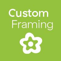 Custom framing badge