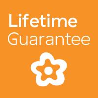 Lifetime guarantee badge